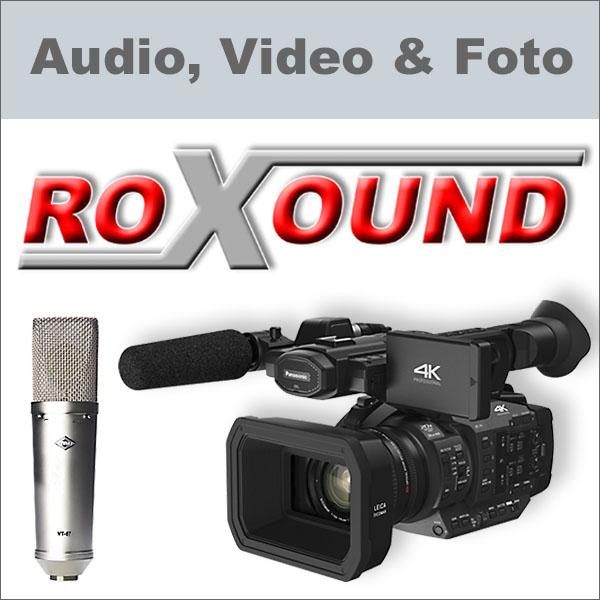 Roxound Audio, Video & Foto